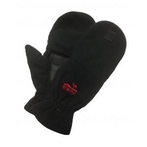 Варежки мужские Tramp Fleece черный S/M