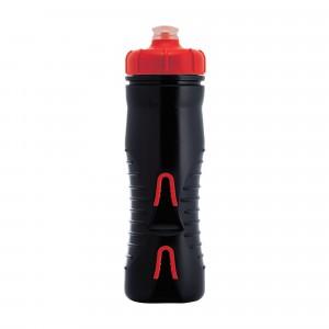 Фляга 525ml Fabric CAGELESS INSULATED черно-красная