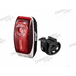 """Мигалка задняя Infini VISTA I-407R, 0.5W Red LED, 3 режима, 2x""""AAA"""", с крепл."""
