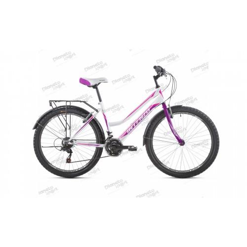 "Велосипед 26"" Intenzo Costa бело/розовый 2019"