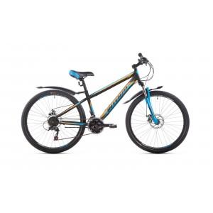 "Велосипед 26"" Intenzo Dakar черно/оранжевый/синий 2019"