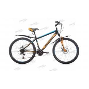 """Велосипед 26"""" Intenzo Master черно/синий/оранжевый 2019"""