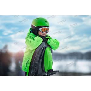 Санки-снегокат Plastkon Stratos зелёные