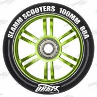 Колесо Slamm Orbit green 100 мм
