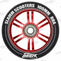 Колесо Slamm Orbit red 100 мм