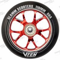 Колесо Slamm V-Ten II red 110 мм