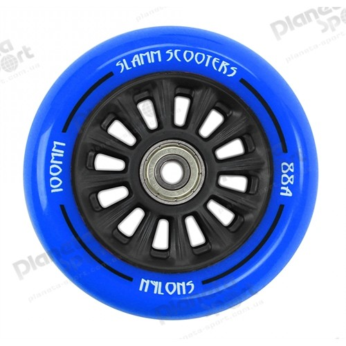 Колесо Slamm Ny-Core Wheels blue 100 мм