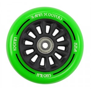 Колесо Slamm Ny-Core Wheels green 100 мм
