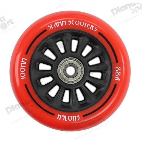 Колесо Slamm Ny-Core Wheels red 100 мм