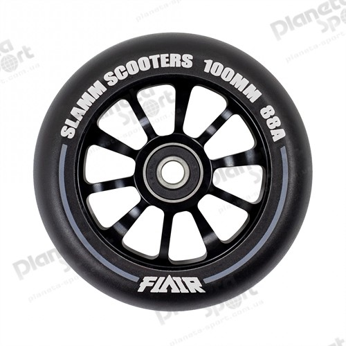 Колесо Slamm Flair 2.0 Wheels black 100 мм