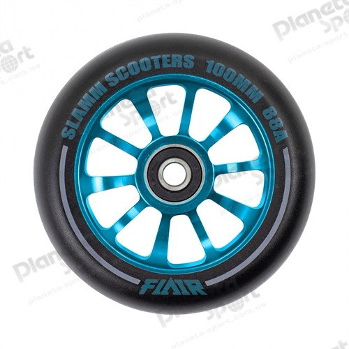 Колесо Slamm Flair 2.0 Wheels blue 100 мм