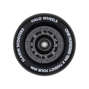 Колесо Slamm Halo Deep Dish Wheels black 110 мм