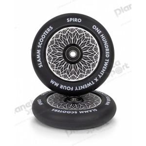 Колесо Slamm Spiro Hollow Core Wheels Black 120 мм
