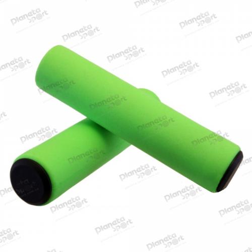 Грипсы Spelli SBG-6108 силиконовые, зеленые