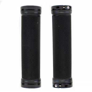 Грипсы Spelli SBG-6703 черные с черными замками