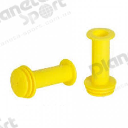 Грипсы Spelli SBG-688 90mm жёлтые с упором