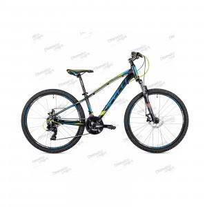 """Велосипед 26"""" Spelli SX-2700 чёрно-синий 2019"""