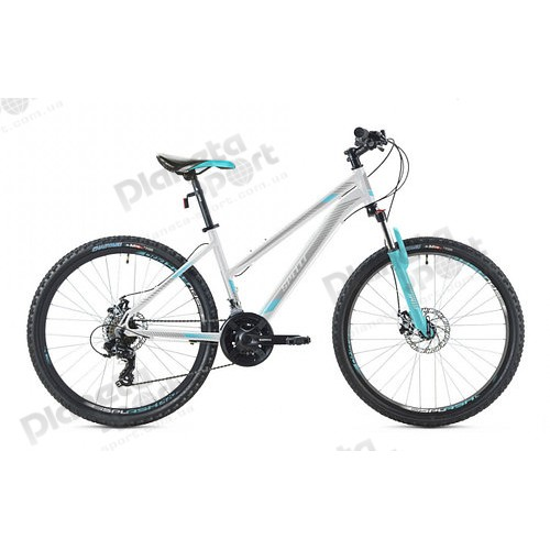"""Велосипед 26"""" Spelli SX-3000 Lady бело-мятный 2019"""