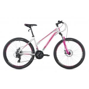 "Велосипед 26"" Spelli SX-3000 Lady бело-серый с розовым 2019"